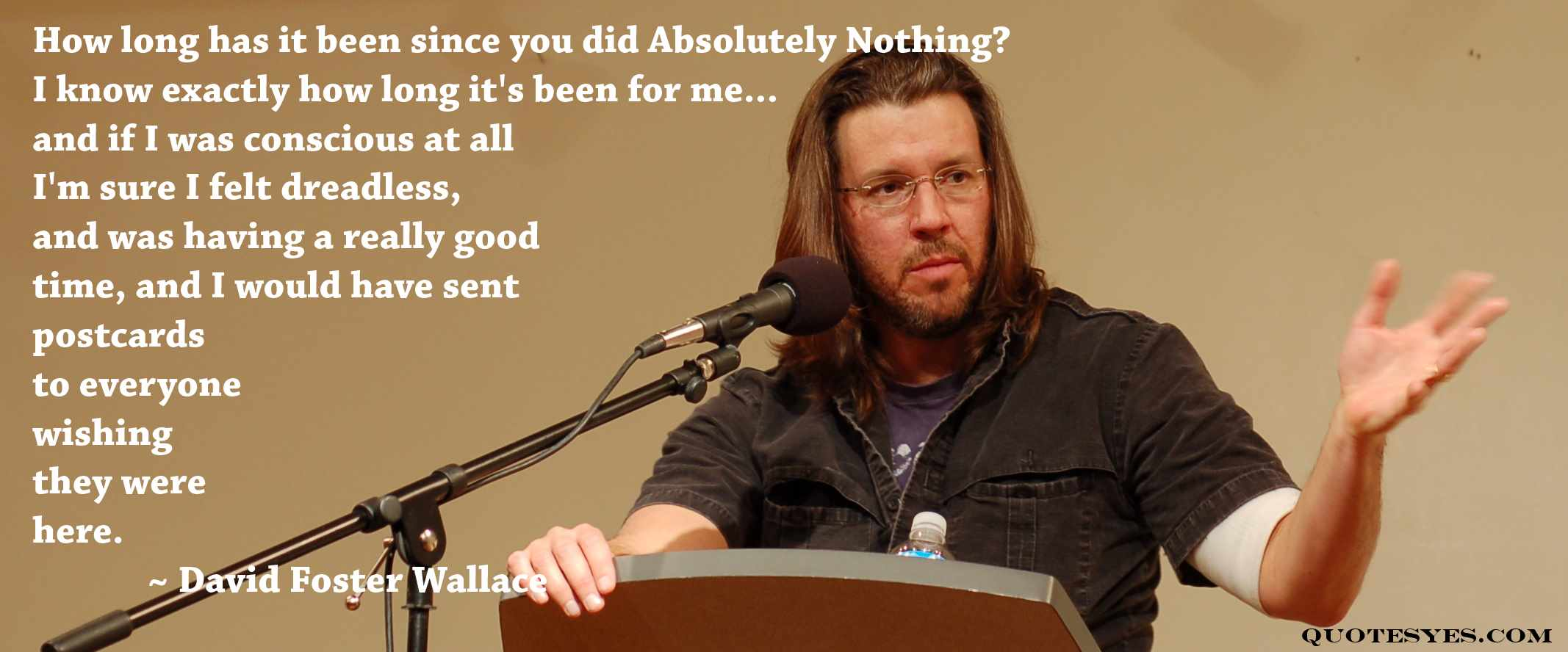 david foster wallace good people Get an answer for 'what is the theme of good people by david foster wallace' and find homework help for other literature questions at enotes.